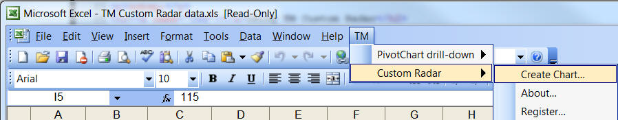 drill down in excel