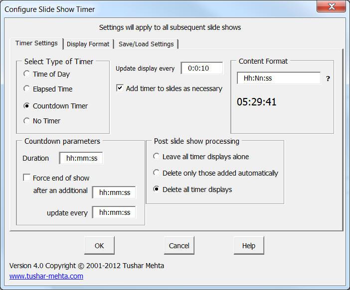 Free powerpoint digital clock, alarm & countdown | youpresent.