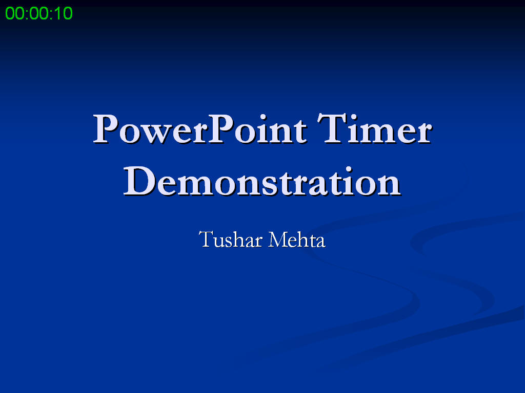 powerpoint timer add-in, Modern powerpoint