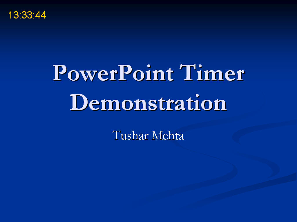 Add a Timer to PowerPoint Slides with PP Timer