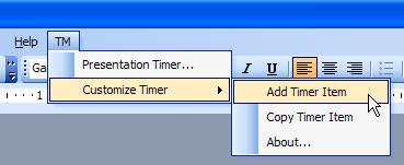 PowerPoint Timer add-in