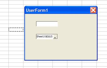 Userform Interface