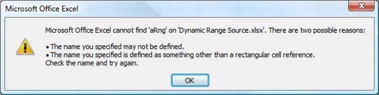 Create a Dynamic (Self-Adjusting) Range