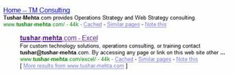 VBA web services